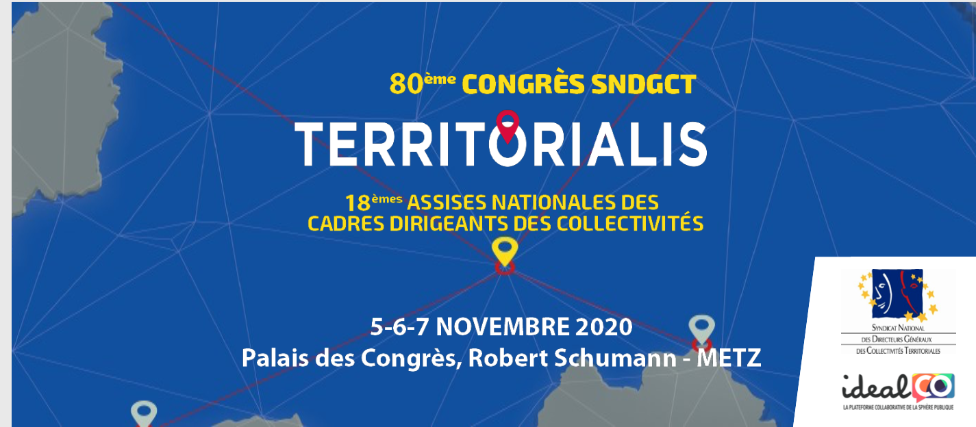 En novembre, rendez-vous à Metz, pour la 18ème édition de Territorialis !