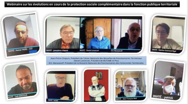 L'actu de la semaine, 5 mars 2021, les mutuelles territoriales et les organisations syndicales des agents échangent sur la réforme de la PSC des territoriaux