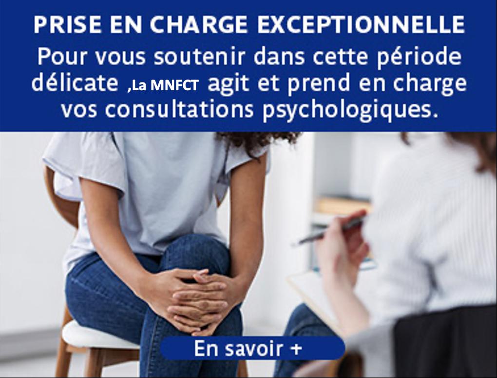 Consultation psychologique : votre mutuelle s'engage